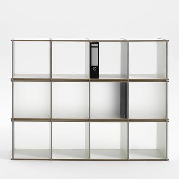 Aktenpack 3x4 von Tojo in Weiss
