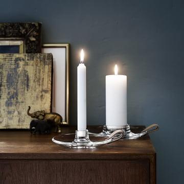 Holmegaard - Design with Light Kerzenhalter - beide Grössen