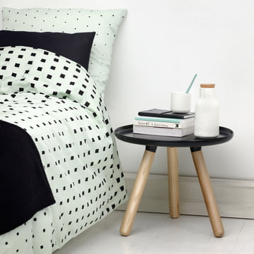 Normann Copenhagen - Cube Bettwäsche, Mint / Ambiente