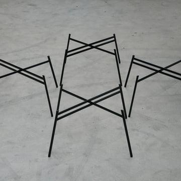 Schindlersalmeron - Tischgestell, Ambientebild / Gruppe