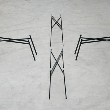 Schindlersalmeron - Tischgestell, Ambientebild / schmal