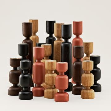 Normann Copenhagen - Lumberjack - Gruppe, rot, braun