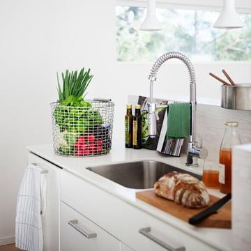 Drahtkorb mit Henkel für die Küche
