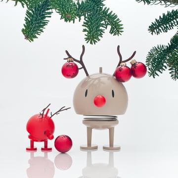 Hoptimist - Bumble Rudolf und Baby Blitzen