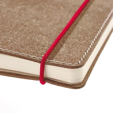 Holtz - sense Book Red Rubber - Naht