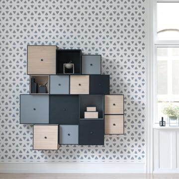 Frame Box und Wandschrank von by Lassen