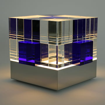 Tecnolumen - Cube Light, klar, blau