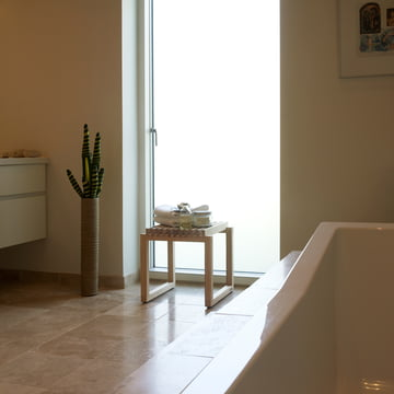 Skagerak - Cutter Hocker, Eiche - Badezimmer