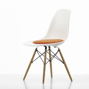 Vitra - Seat Dots Sitzkissen, rot / orange - Plastic Side Chair