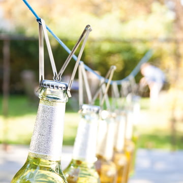 Edelstahlklemme zum Flaschenöffnen