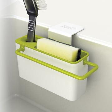 Joseph Joseph - Sink Aid, weiss / grün - befüllt