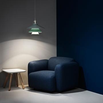 Normann Copenhagen - Swell Sessel, dunkelblau
