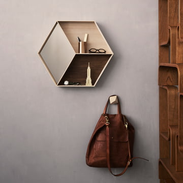 Ferm Living - Wall Wonder Spiegel, Ahorn
