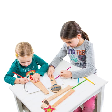 Donkey Products - Funky Rulers Holzlineale - mit Kindern