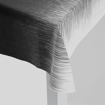 ferm Living - Pen Tischdecke, grau - Detail, Ecke