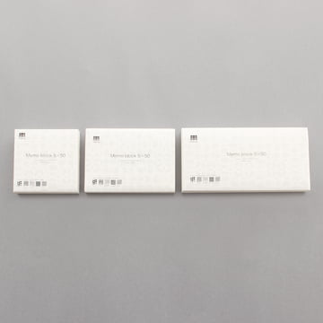3120 Mino - Memo Block 5x50 - Gruppe, Grössen