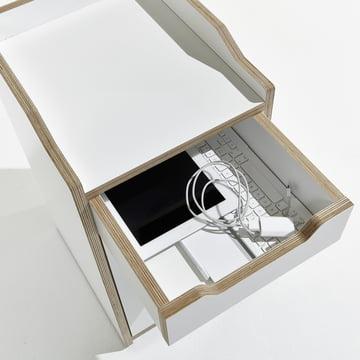Müller Möbelwerkstätten - Plane Container - offene Schublade