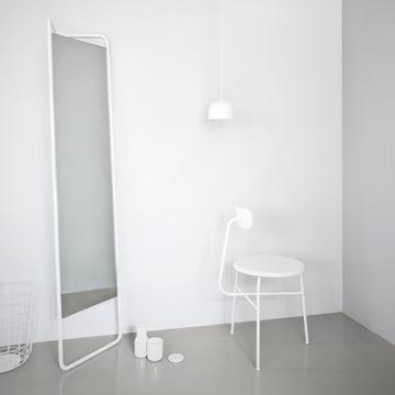 Menu - Kaschkasch Spiegel, weiss