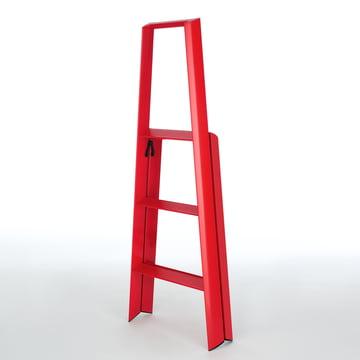 Metaphys - Lucano 3 Step, rot - zusammengeklappt, schräg