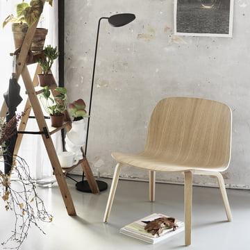 Muuto - Visu Lounge Chair / Leaf Stehleuchte