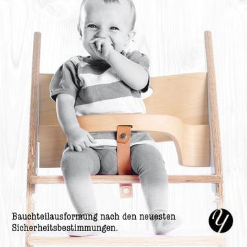 Yuunic - Kinderhochstuhl - Bauchteil
