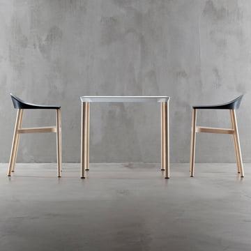 Plank - Monza Stuhl, Sitzgruppe