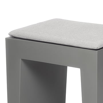 Fatboy - Concrete Seat, grau, Kissen crosshatch-grey