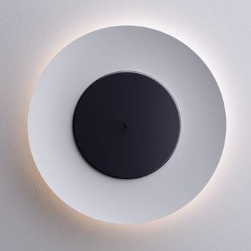 Lunaire Wandleuchte von FontanaArte in schwarz/weiss LED