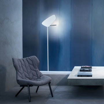Foscarini - Lightwing LED Stehleuchte, weiss