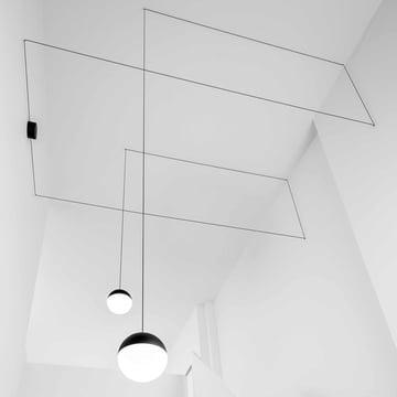 Flos - String Light Pendelleuchte, Kugelkopf