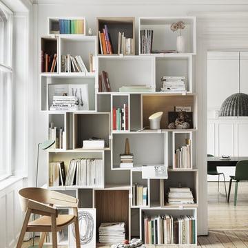 Muuto - Stacked Regalsystem - Bücher