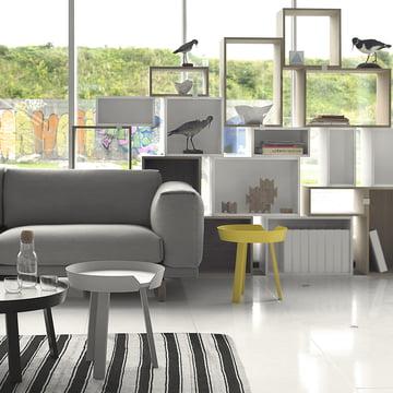 Muuto - Stacked Regalsystem - Wohnzimmer