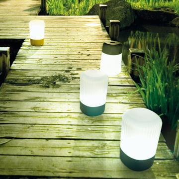 FontanaArte - Koho Outdoor-Tischleuchte, Garten