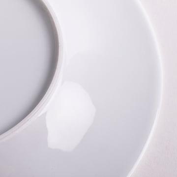Kahla - Magic Grip Brotteller, weiss, 17 cm