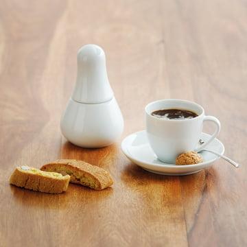 Kahla - Magic Grip Espresso, weiss, auf dem Boden platziert