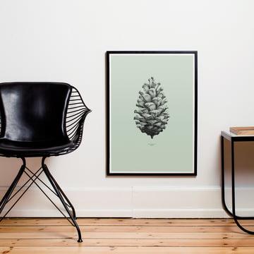Poster Nature 1:1 Pine Cone von Paper Collective