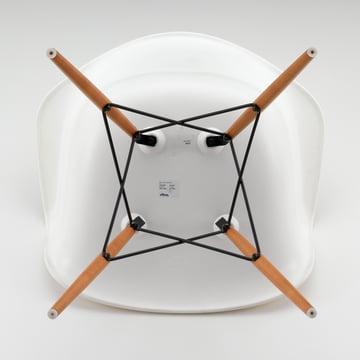 Vitra - Eames Plastic Armchair DAW, weiß
