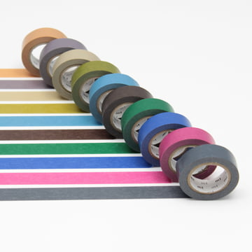 Masking tape - 10P dark colour (10er-Set)