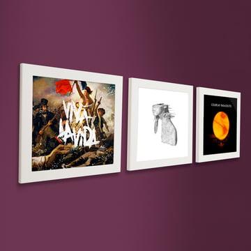 Art Vinyl - Flip Frame 3er-Set, weiss