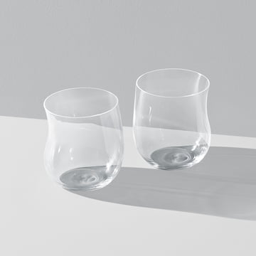 Georg Jensen - Cobra Trinkglas 0,2 l (2er-Set), transparent