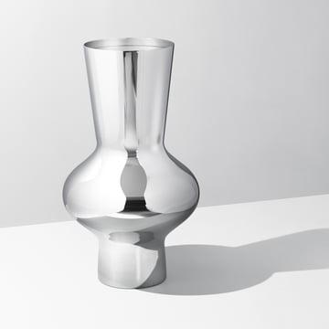 Georg Jensen - Alfredo Vase 470, Edelstahl