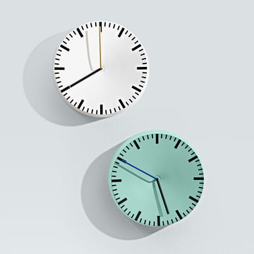 Hay - Analog Uhr, mint, weiss