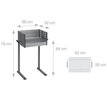 Dancook - Abmessungen 7000 Boxgrill