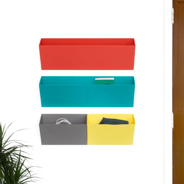 Objekten - Leaning Wandtaschen