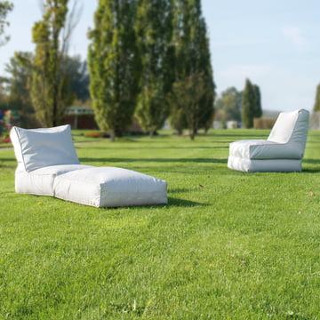 Liege und Sessel für den Aussenbereich