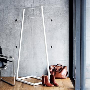 BeDesign - Lume Garderobenständer klein, weiss