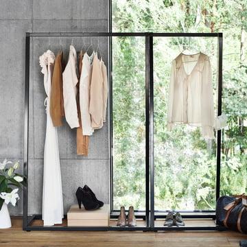 BeDesign - Lume Garderobenständer, schwarz
