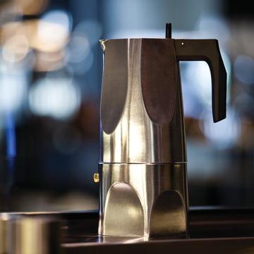 Alessi - MT18 Ossidiana Espressomaschine