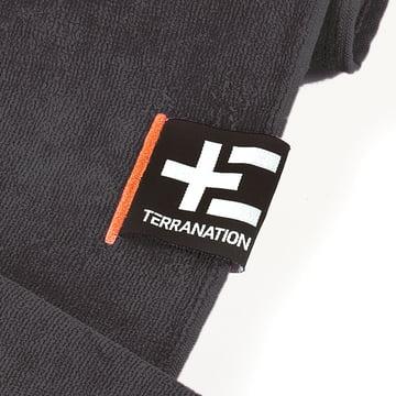 Terra Nation - Manava Moe Handtuch, grau