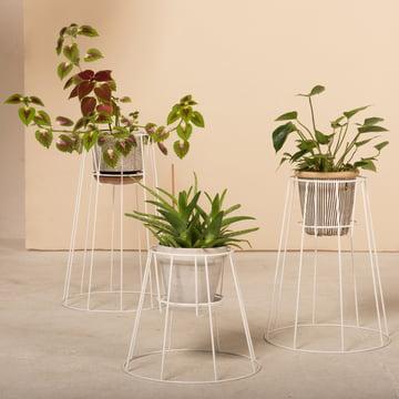 OK Design - Cibele Blumentopfständer, weiss